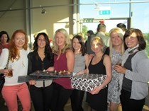 Energy Hair Spa celebrates 1 year at Dart's Farm & raises £150 for The Exeter Foundation