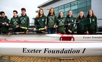 Exeter Foundation donates two new boats to the Exeter Rowing Club