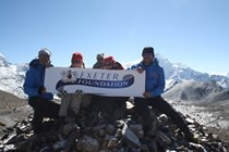 Local team return from their charity Himalayan Adventure