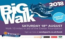 The date has been set for The Big Walk 2018