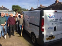 New vehicle for Age Uk Exeter's 'Men In Sheds' projet