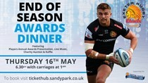Celebrate another fantastic rugby season at the 2019 Exeter Chiefs End of Season Awards Dinner