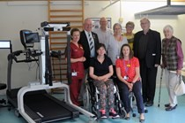 Patients benefit from state-of-the-art rehabilitation equipment