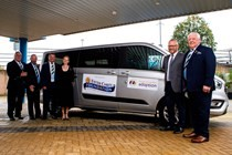 New Van for Families for Children Atrium Project