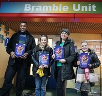 ​Live stream of Beauty and the Beast brings Christmas cheer to children's ward and care homes